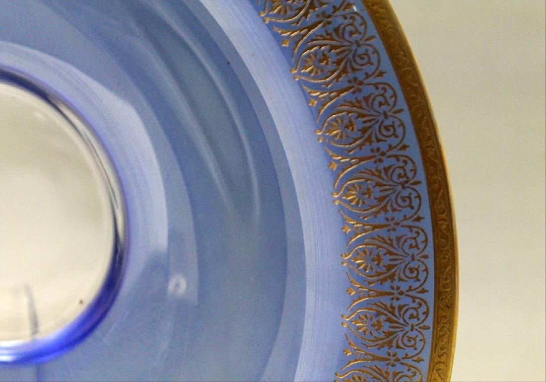 Morano Gilt Rim Glassware - 6