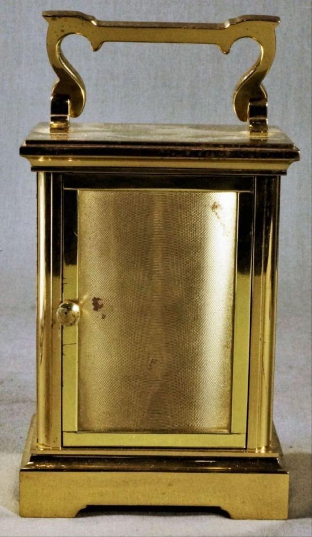 English Brass Carriage Clock - 2