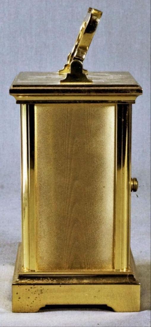 English Brass Carriage Clock - 3