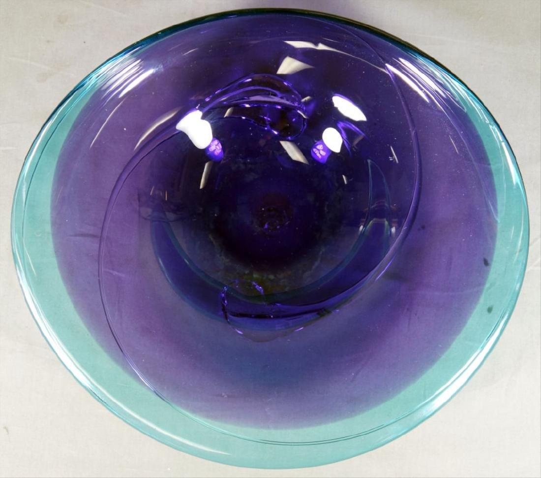 Will Barry Art Glass Bowl