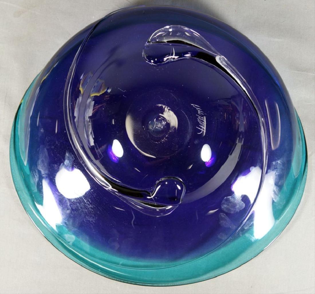 Will Barry Art Glass Bowl - 2