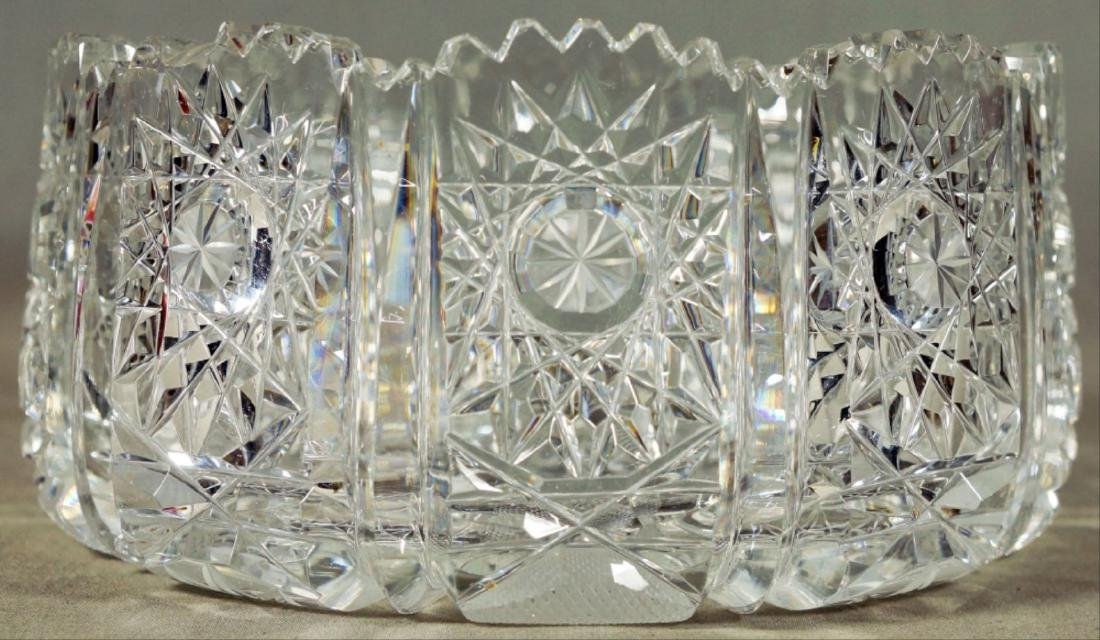 Molded Glass Table Pieces - 2
