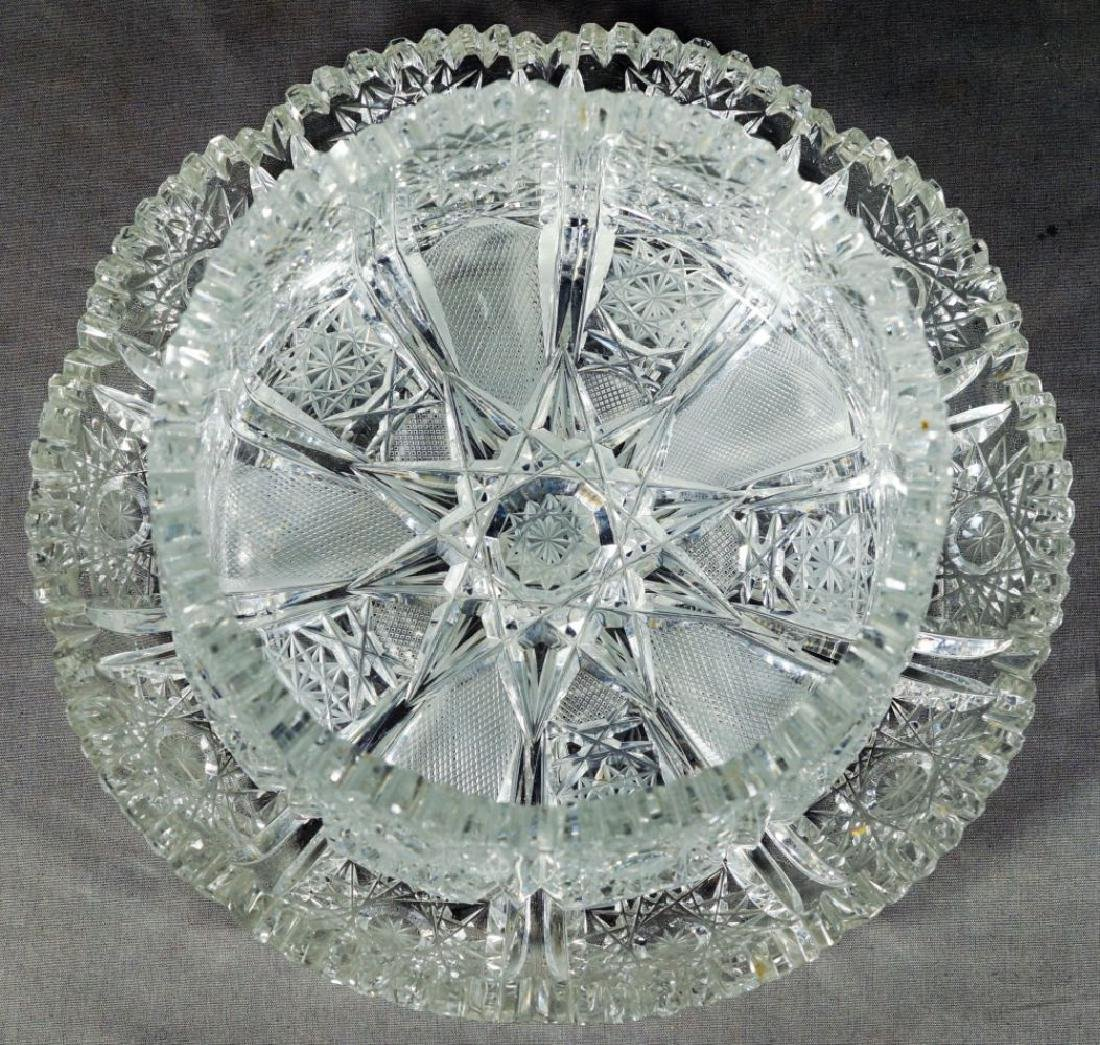 Molded Glass Table Pieces - 4