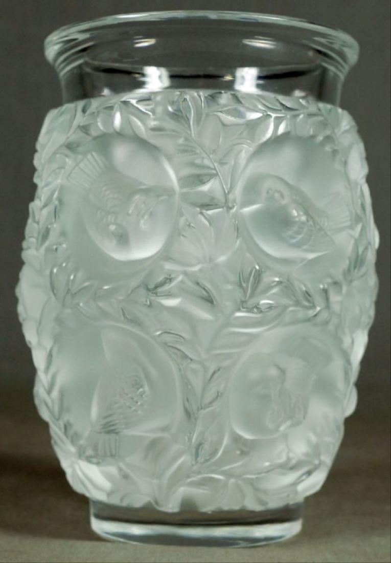 Lalique Budgie Vase - 3