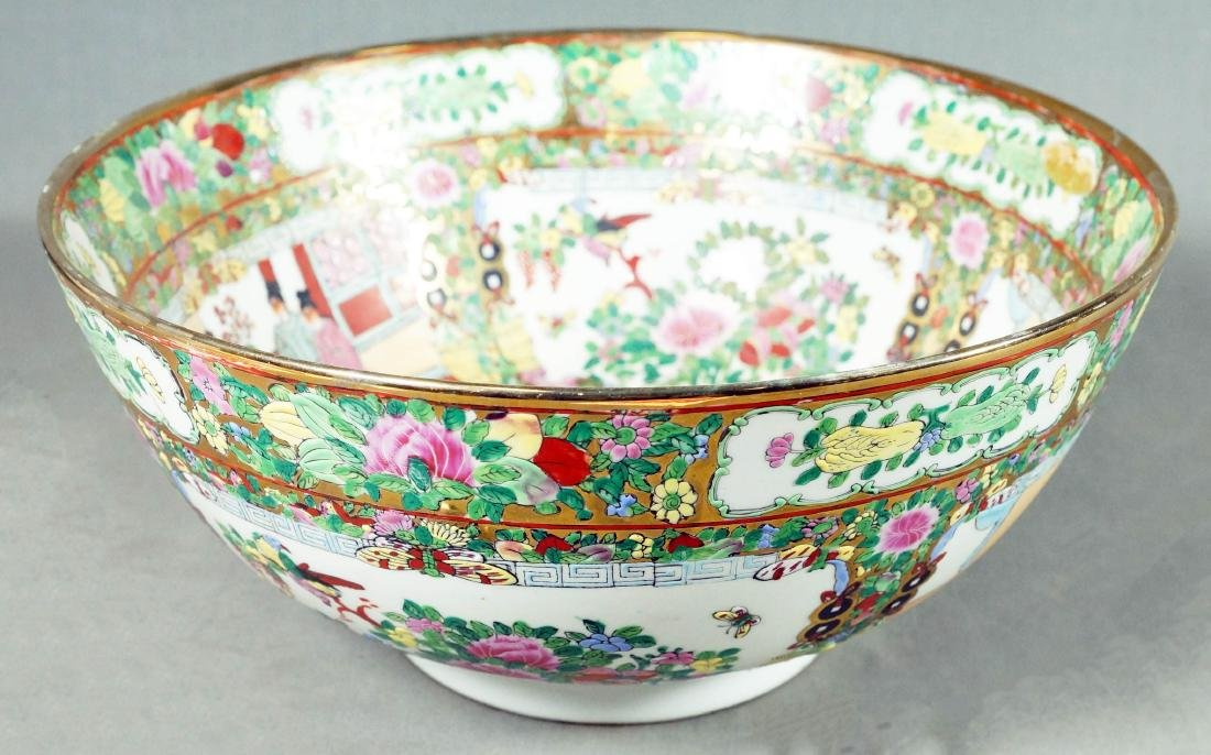 Two Canton Style Bowls - 3