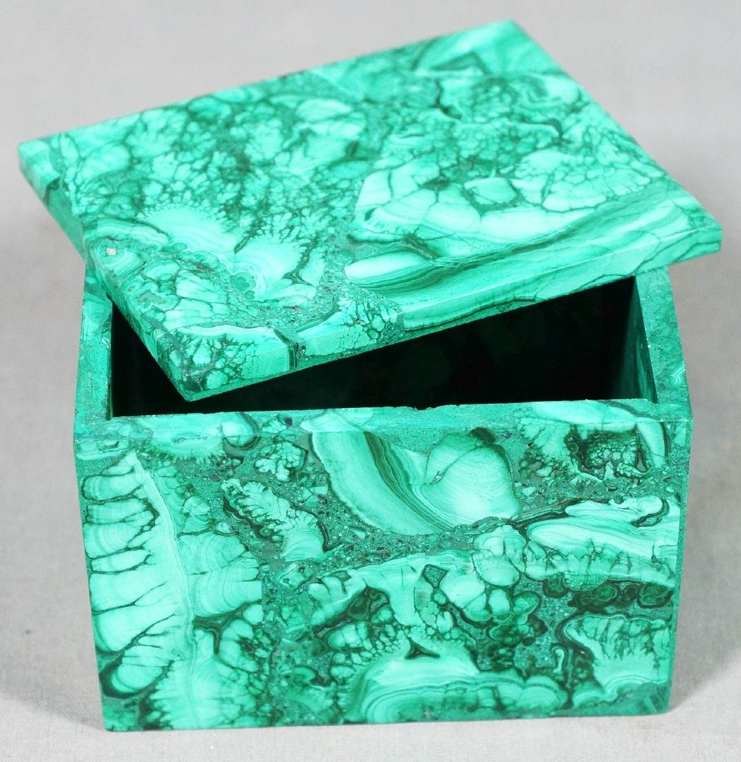 Russian Malachite Box - 2