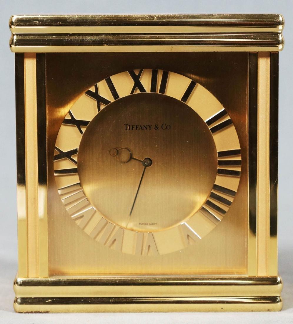 Tiffany And Co. Mantel Clock