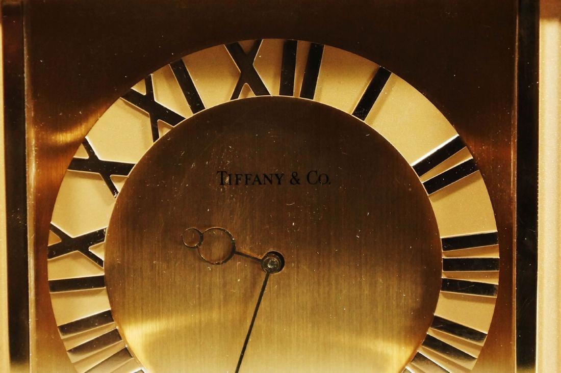 Tiffany And Co. Mantel Clock - 6