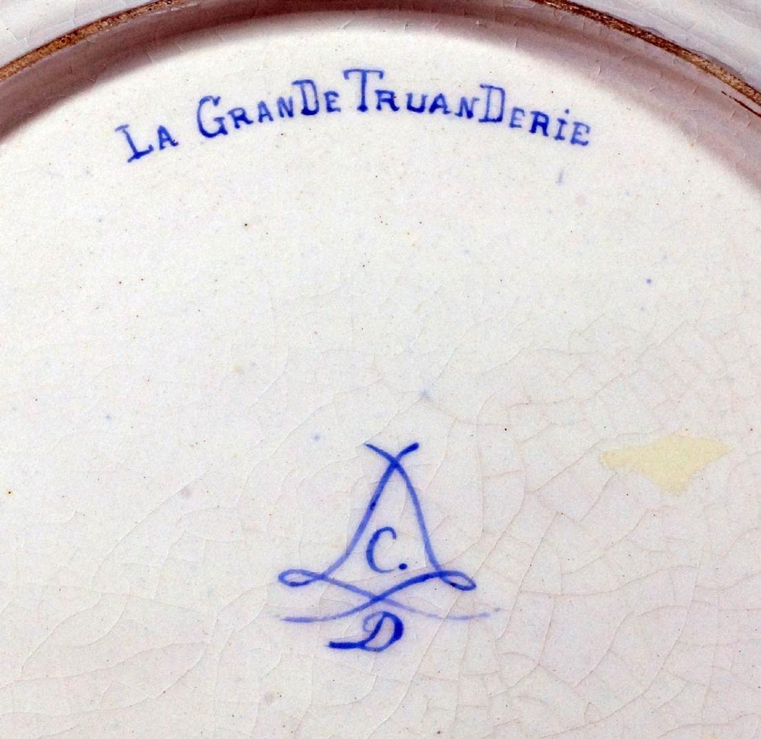 Le Gran De Truan Derie Sevres Plate - 2