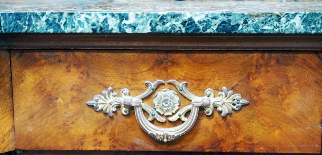 French Marble Top And Ormolu Mounted Server - 2