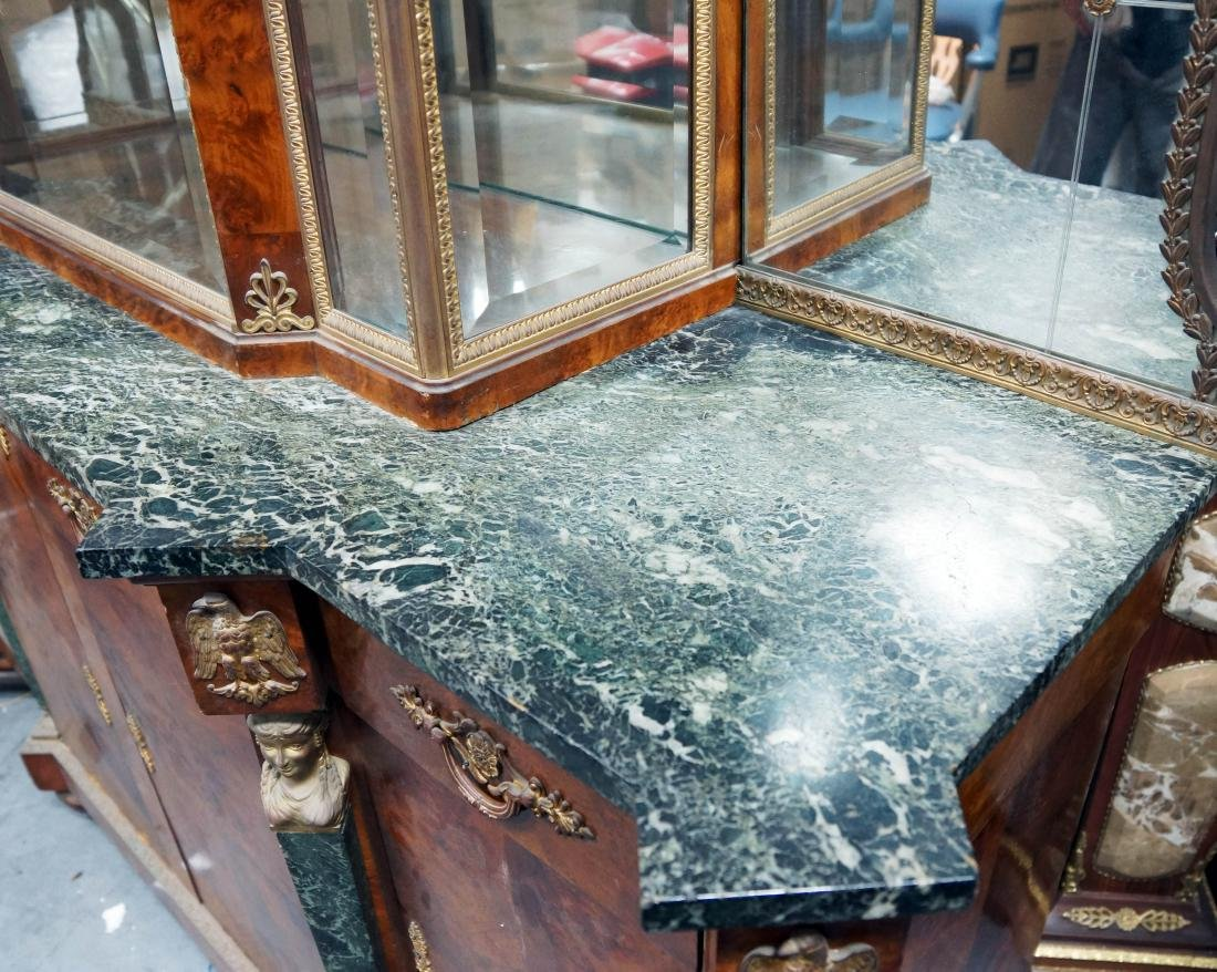 French Marble Top And Ormolu Mounted Server - 4