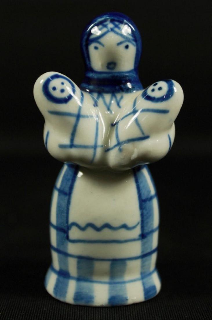 Set Of 3 Russian Porcelain Figures - 3