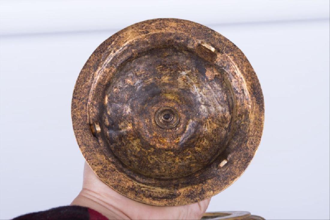Pair Of 19Th C. Louis Xvi Style Gilt Bronze & Cut Glass - 6