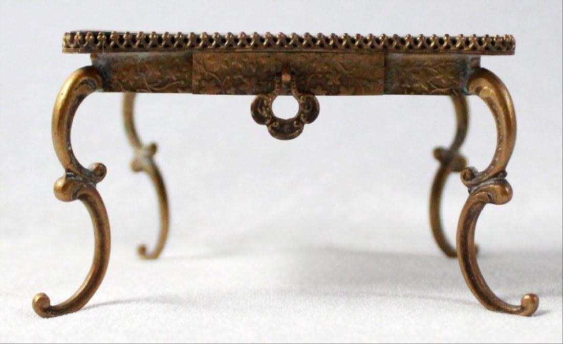 Viennese Enamel Miniature Furniture Set - 2
