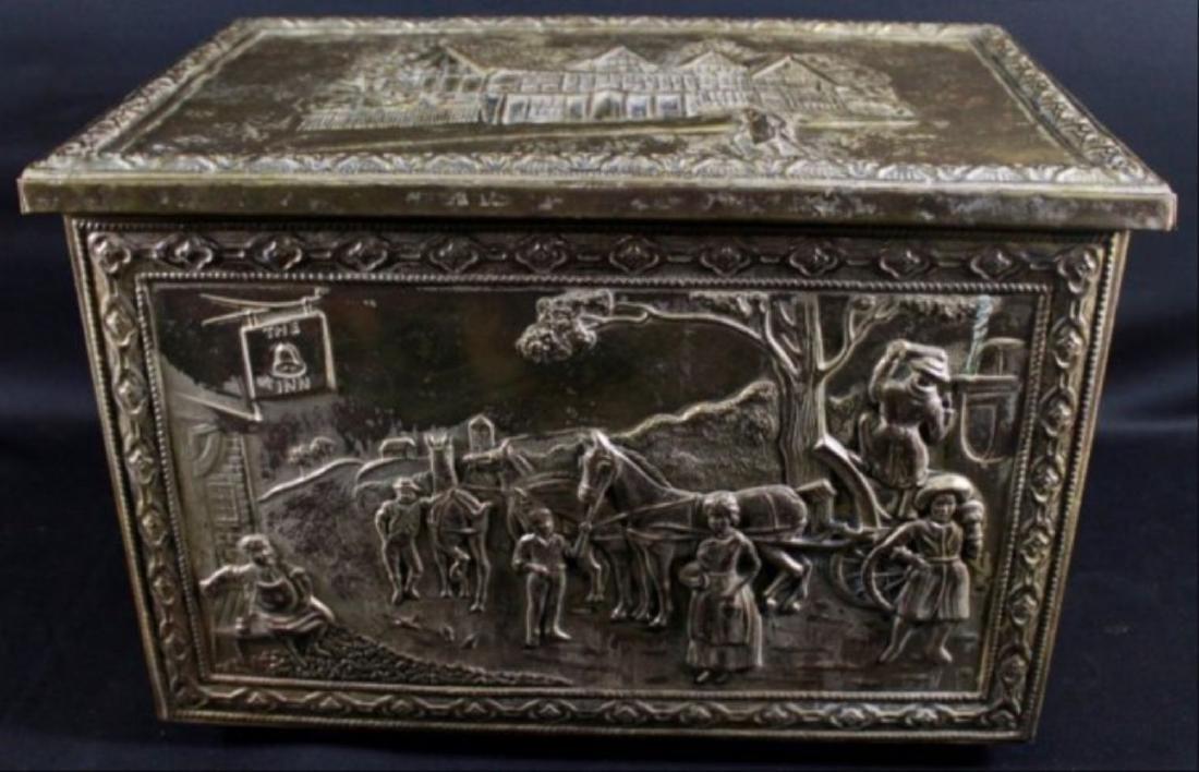 Bronze Detailed Trinket Box