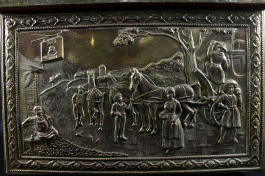 Bronze Detailed Trinket Box - 3
