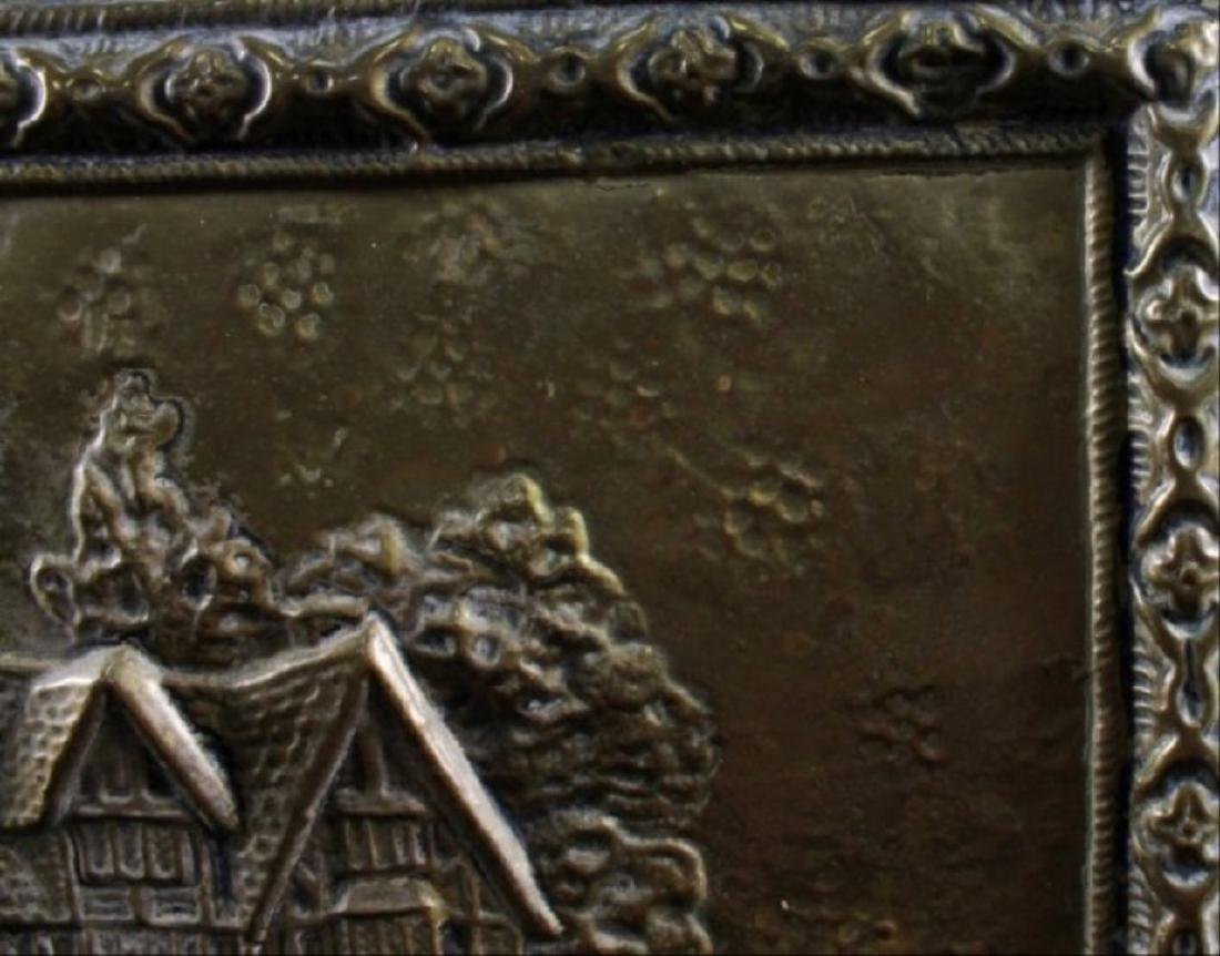 Bronze Detailed Trinket Box - 5