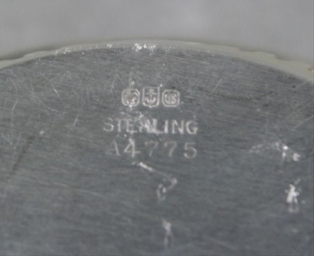 Set Of 6 Sterling Silver Salt Trays - 3