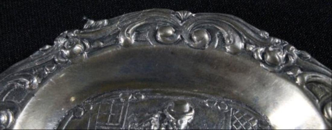 Continental Silver Inlaid Tray - 3