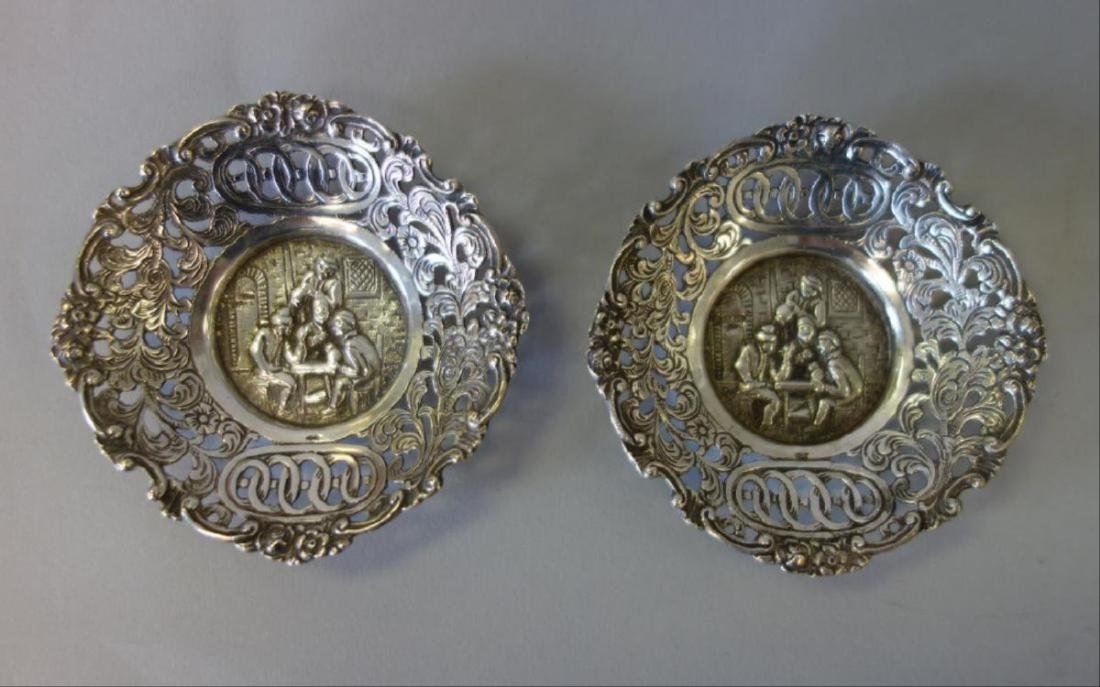 Continental Silver Nut / Candy Dishes - 3