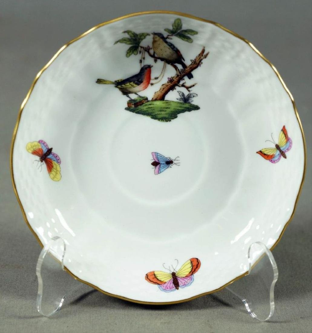 Small Set Of Herend Porcelain Dishes - 10