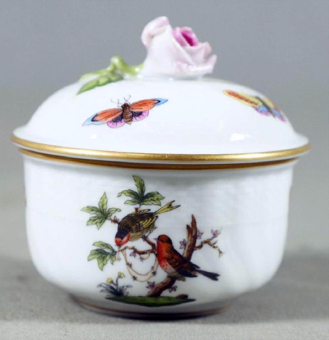 Small Set Of Herend Porcelain Dishes - 4