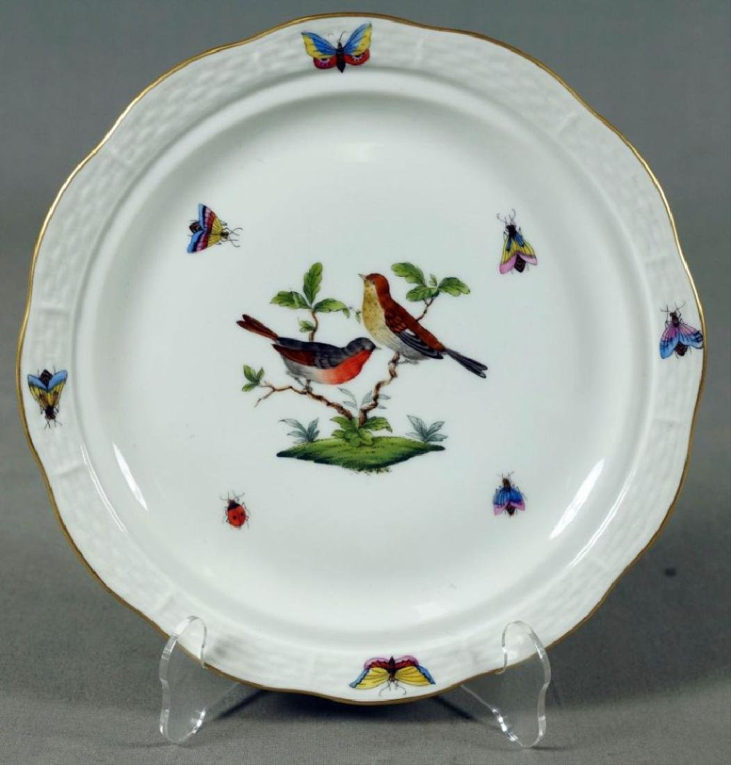 Small Set Of Herend Porcelain Dishes - 7