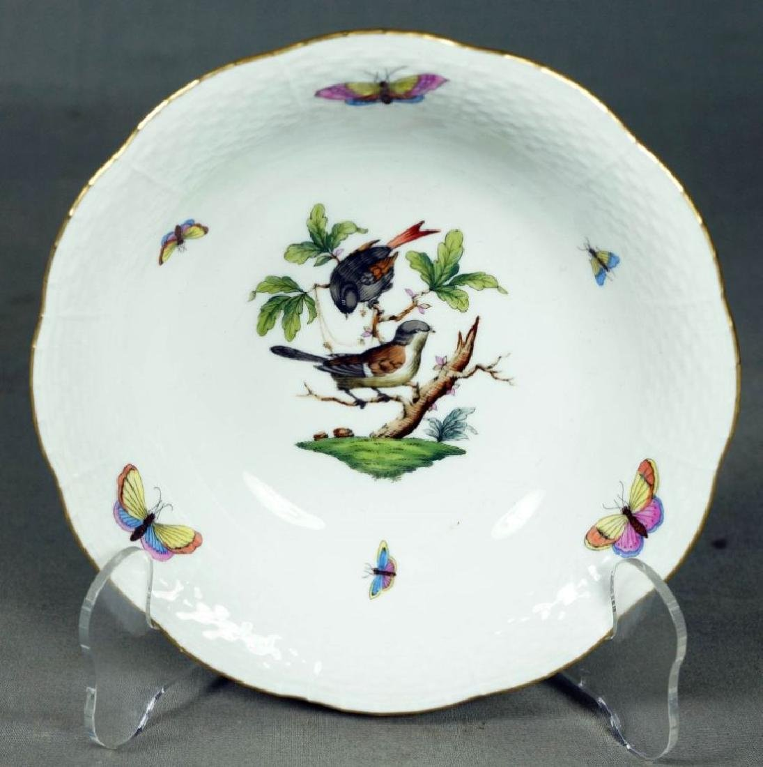 Small Set Of Herend Porcelain Dishes - 8