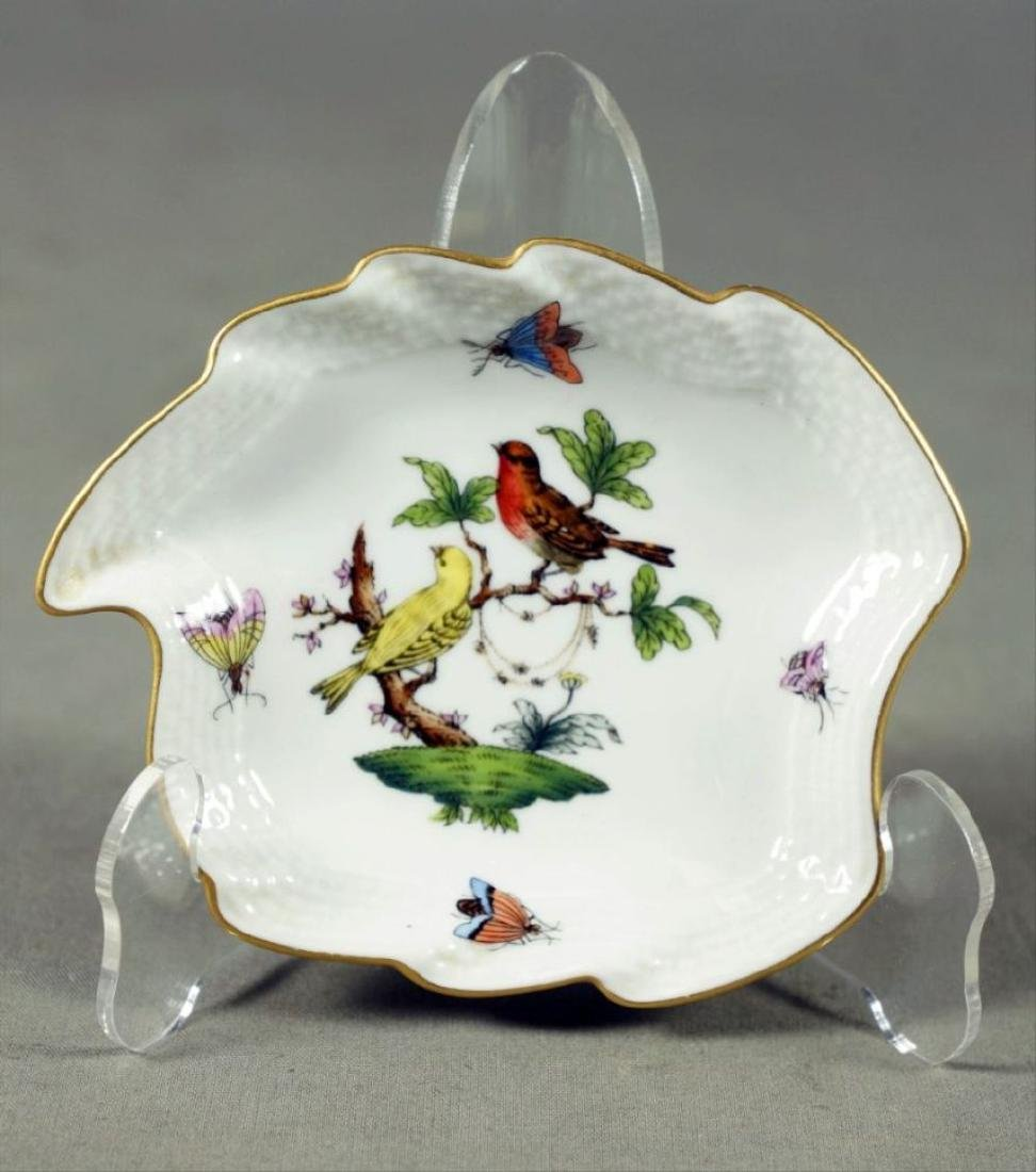 Small Set Of Herend Porcelain Dishes - 9