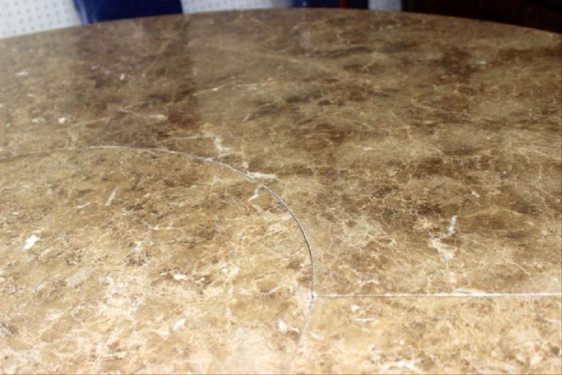 Italian Louis Xv Style Marble Inset Table - 3