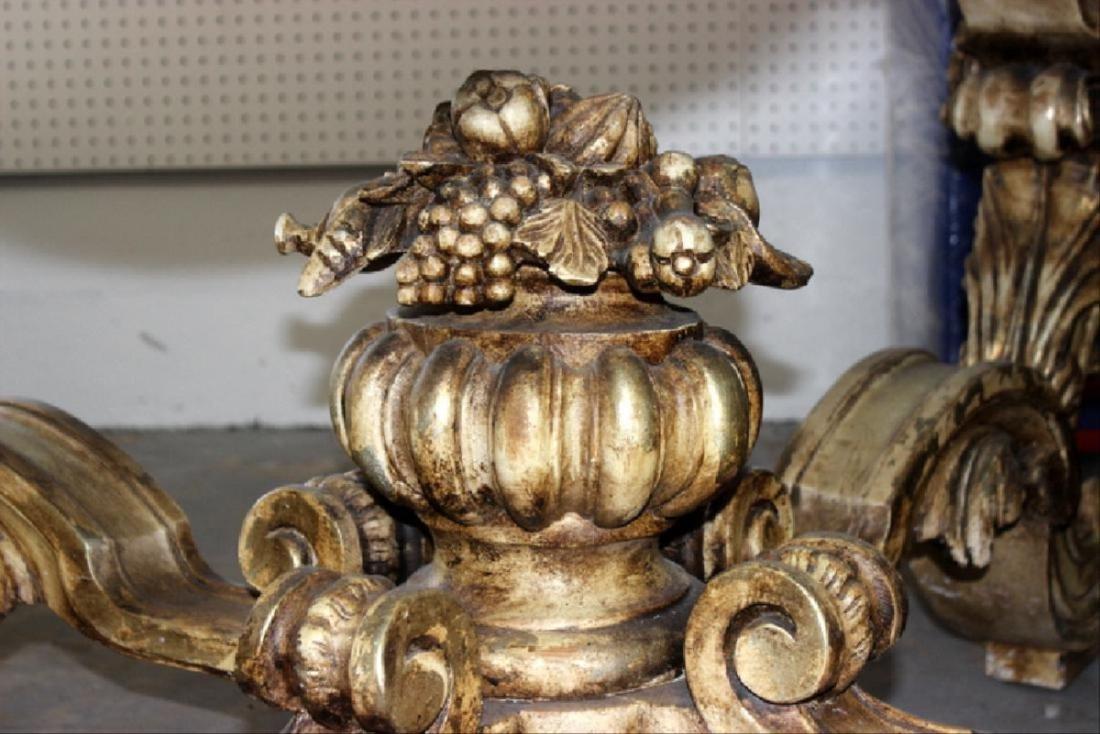 Italian Louis Xv Style Marble Inset Table - 5