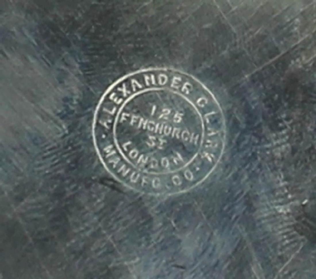 Alexander Clark Sterling Silver Tray - 4