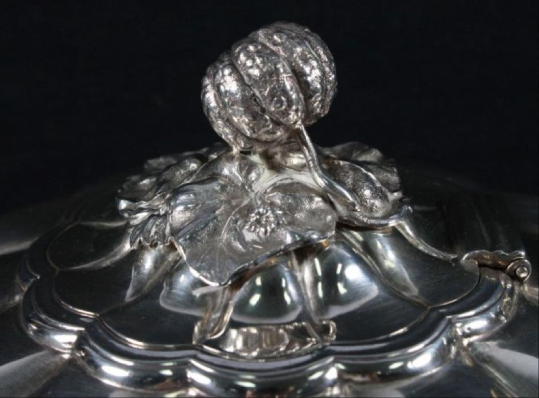 Victorian Sterling Silver Coffee And Tea Service, - 10