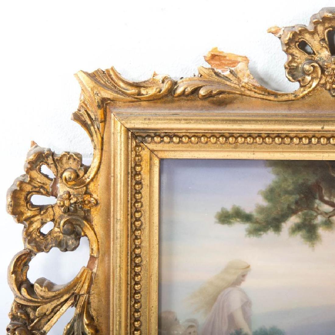 19Th Century Kpm Porcelain Plaque - 4