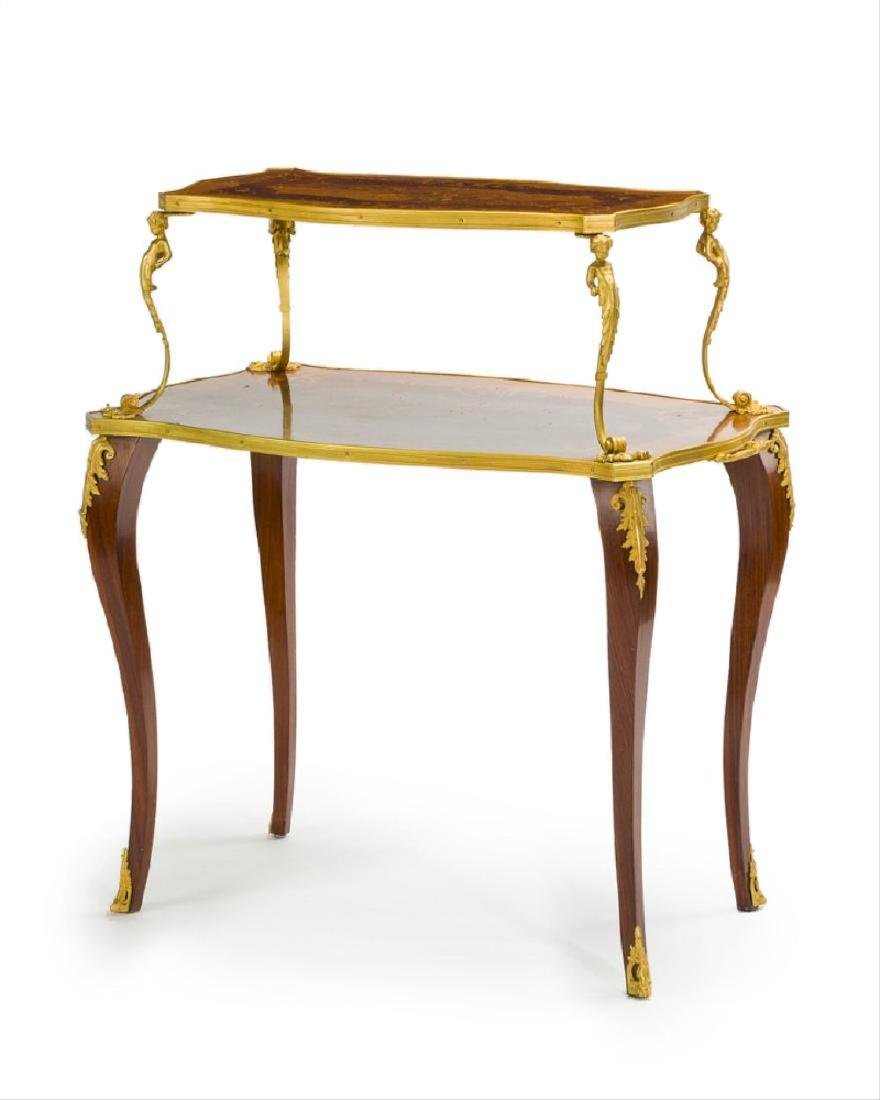 A French Louis Xv-Style Pastry Table