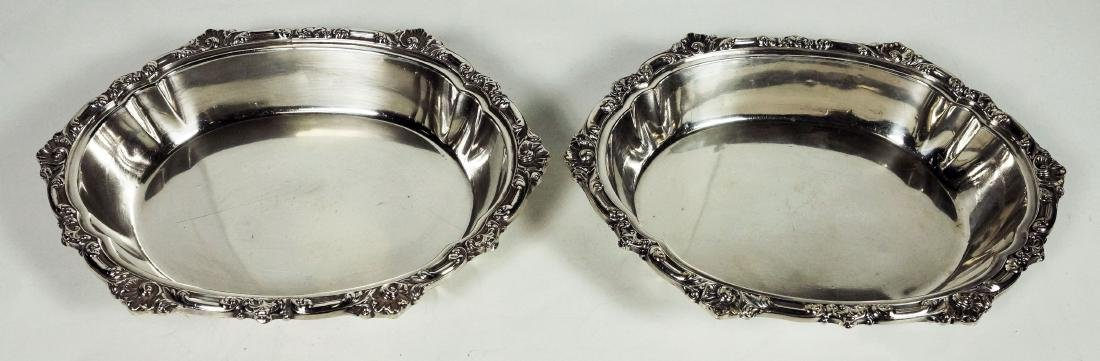Pair Of Tiffany & Co. Silverplated Bowls