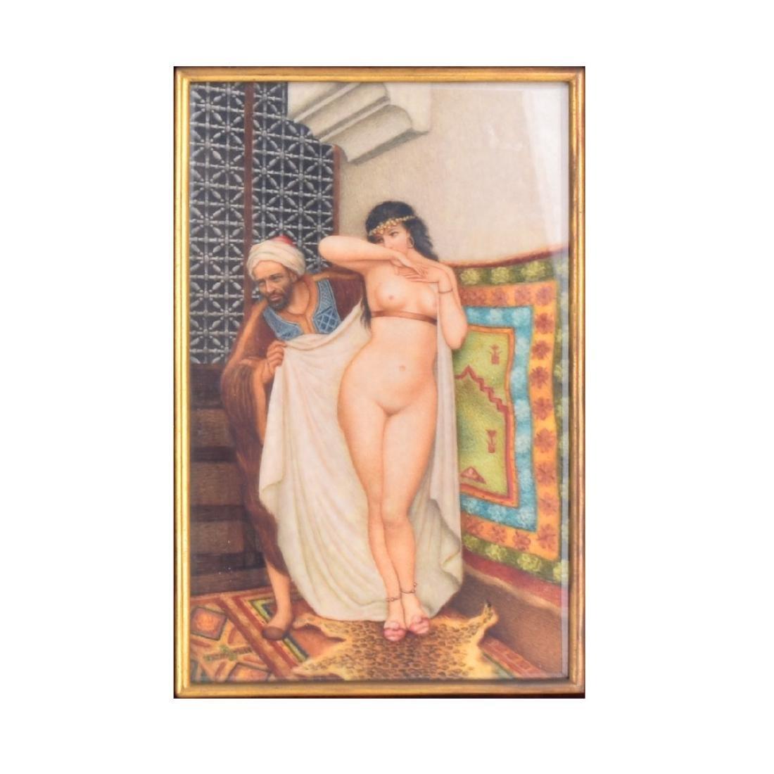 Orientalist Watercolor