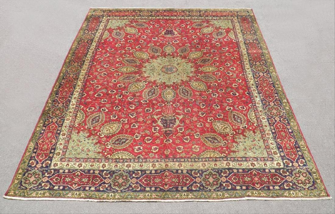 Extremely Gorgeous Persian Tabriz 12.6X9.7
