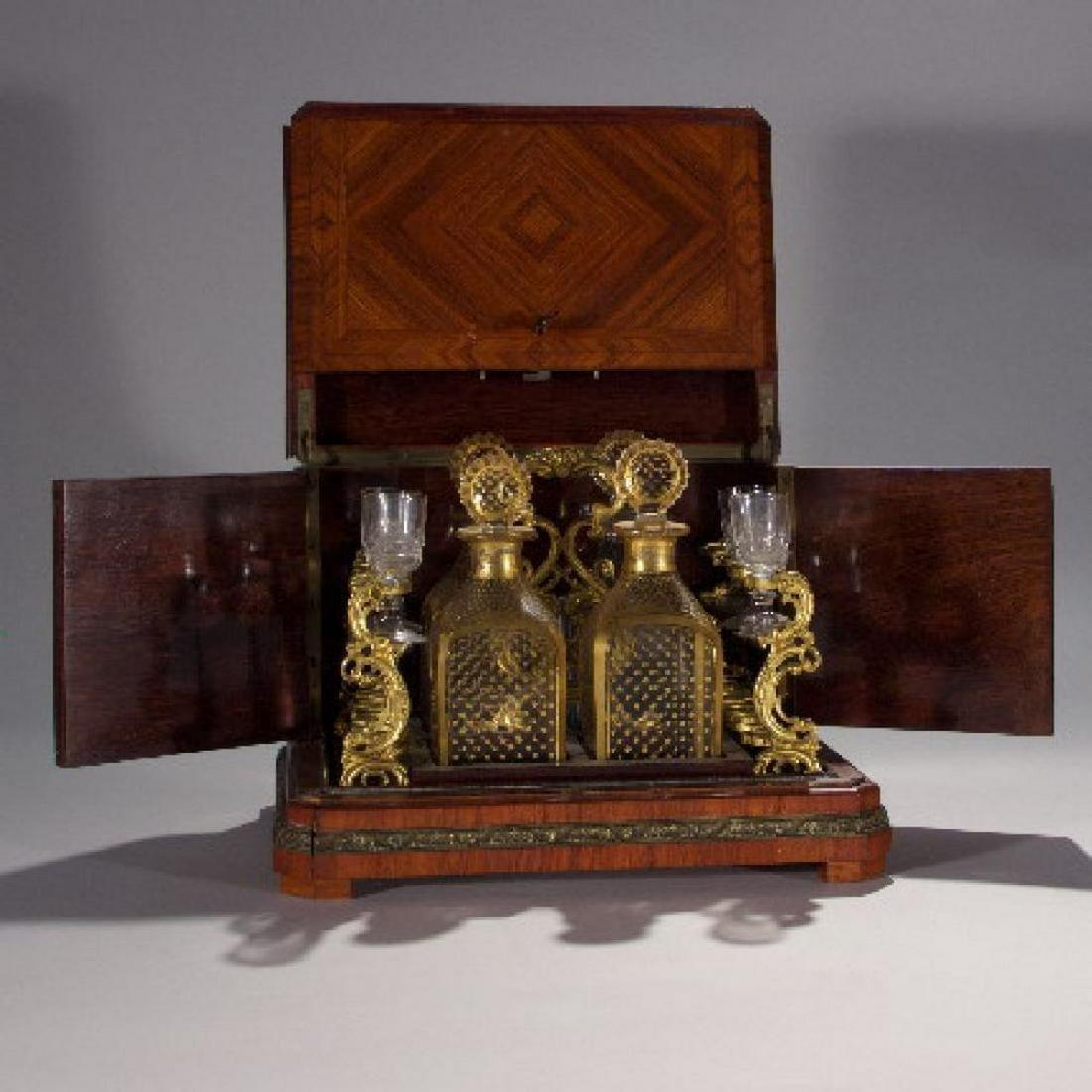 19Th Century French Tantalus Set