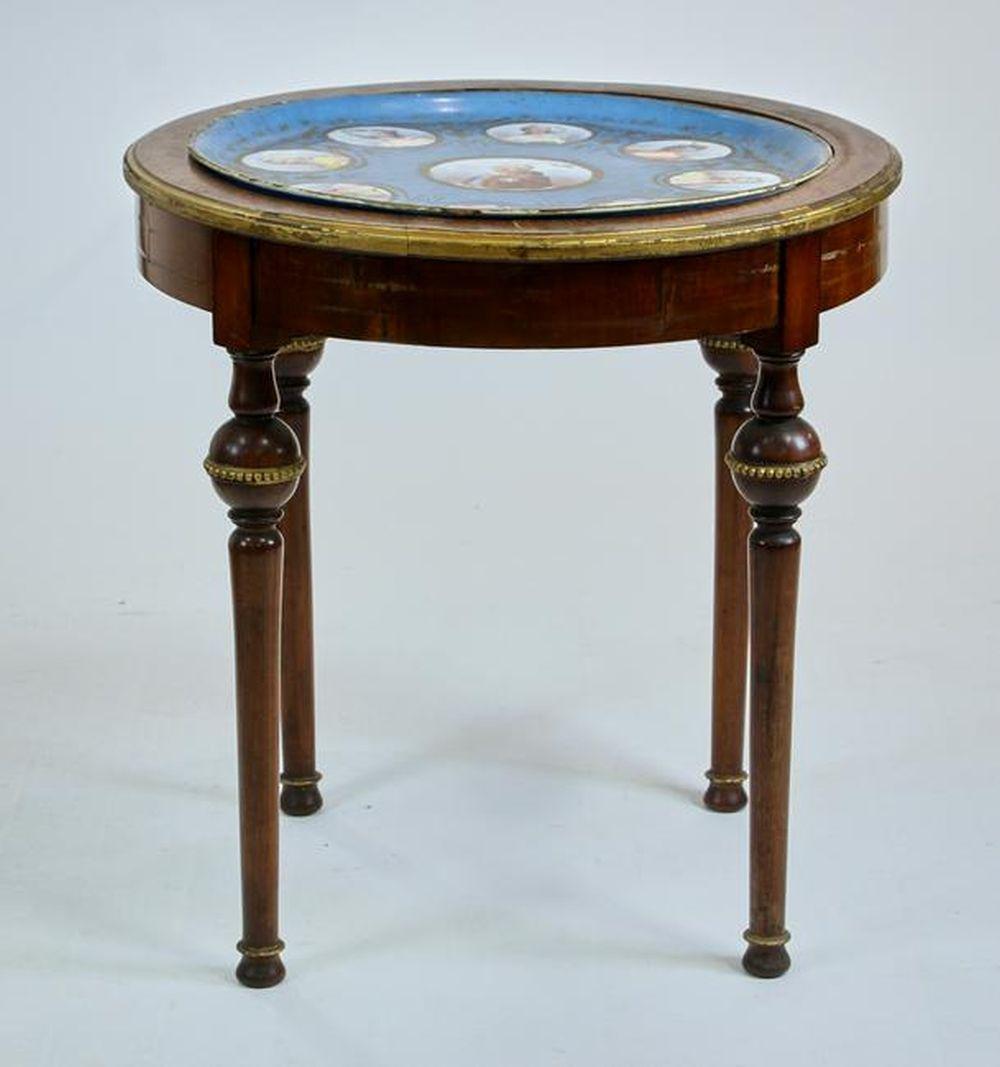 19thC French Sevres Porcelain Table
