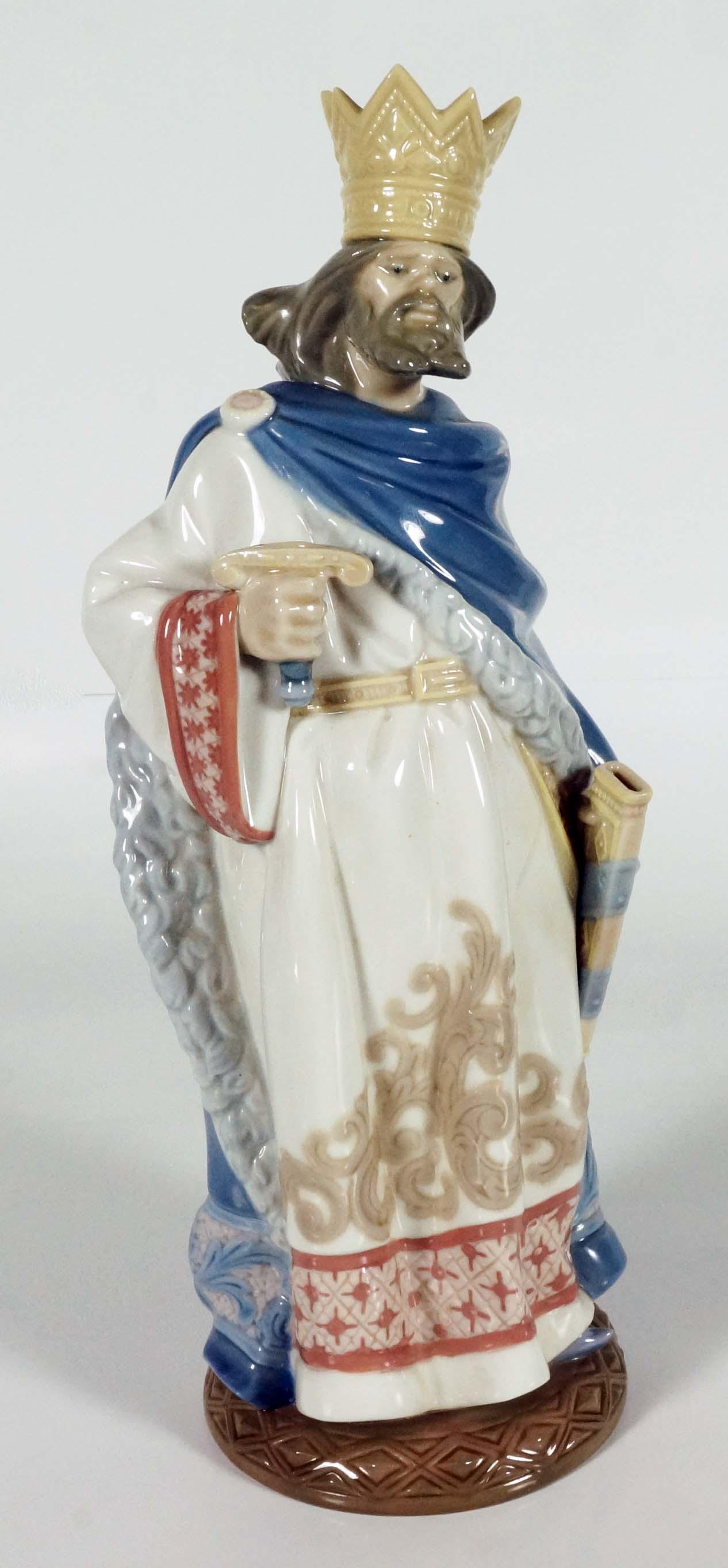 Large Lladro Figure of Saint