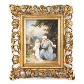 19Th Century Kpm Porcelain Plaque