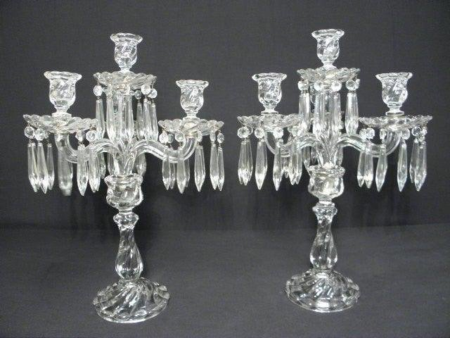 Baccarat 4-Candle Candelabra