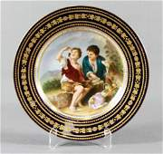 Royal Vienna Plate After