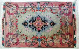 Handmade Persian Tabriz Wool/Silk Prayer Rug
