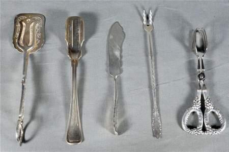 Assorted Sterling Silverware
