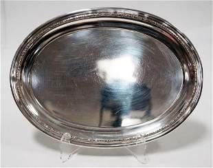 International Oval Sterling Dish