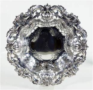 Pierced Sterling Dish