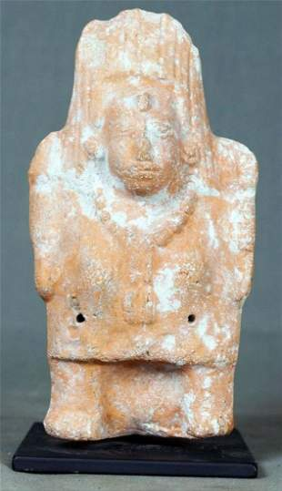 Pre-Columbian Amlash Pottery Figure