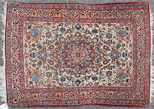 Semi Antique Persian Isfahan Rug
